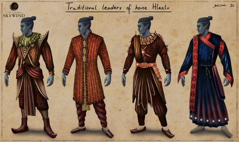 Dunmer_Garbs_Traditional_Hlaalu_Leaders_by_Zsolt_Bede