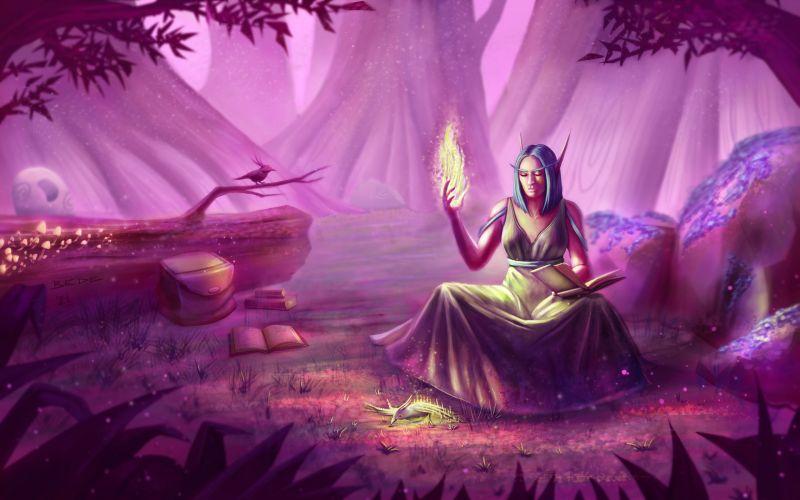 Night_Elf_Priest_Healing_by_Zsolt_Bede